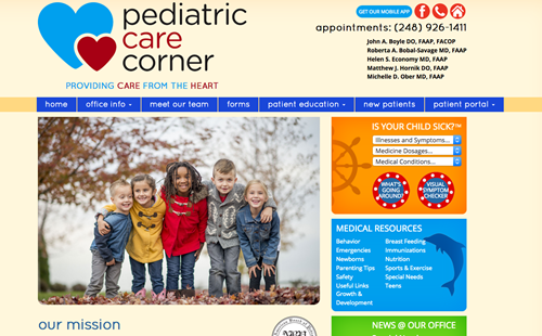 Pediatric Care Corner PC